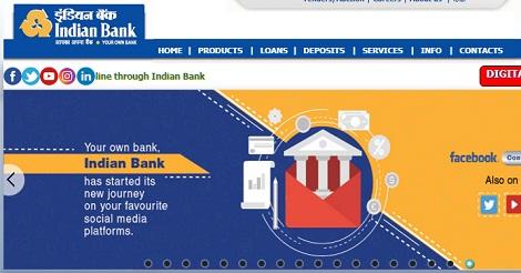 Indian Bank Recruitment Apply Online