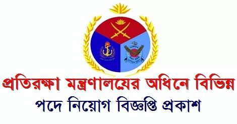 Defence Ministry Job