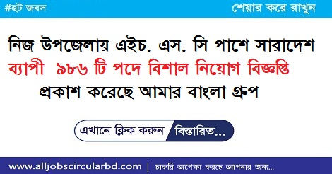 Amar bangla Group part time jobs Circular