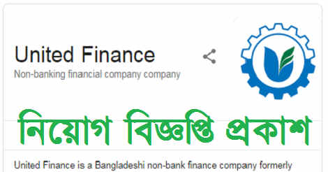 United Finance Ltd Job Circular